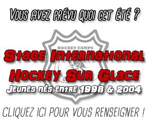 Bannière Pavé Hockey Camps