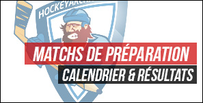 match amicaux hockey resultats 2015