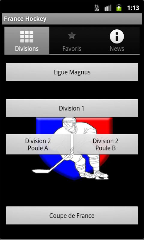 Application Android Hockey