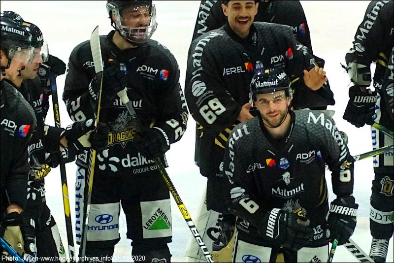 Rouen - Anglet (Ligue Magnus, 18e journée) - Hockey Archives